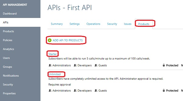 API Management Service 2017 - Add Operation to API