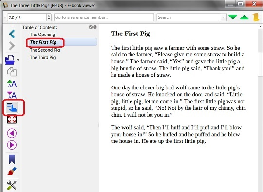 EPUB Book Content in Multiple XHTML Files